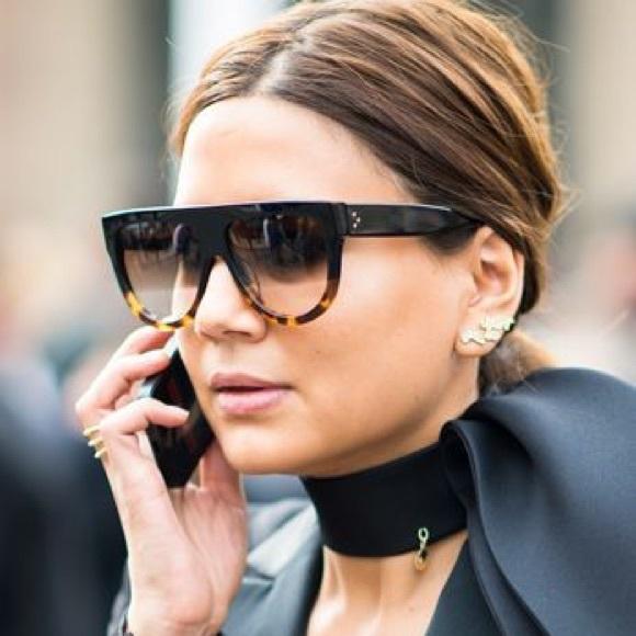 4986c8695dc Celine Accessories - Celine Havana Tortoise Sunglasses